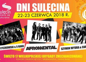 Dni Sulęcina 2018 program koncerty