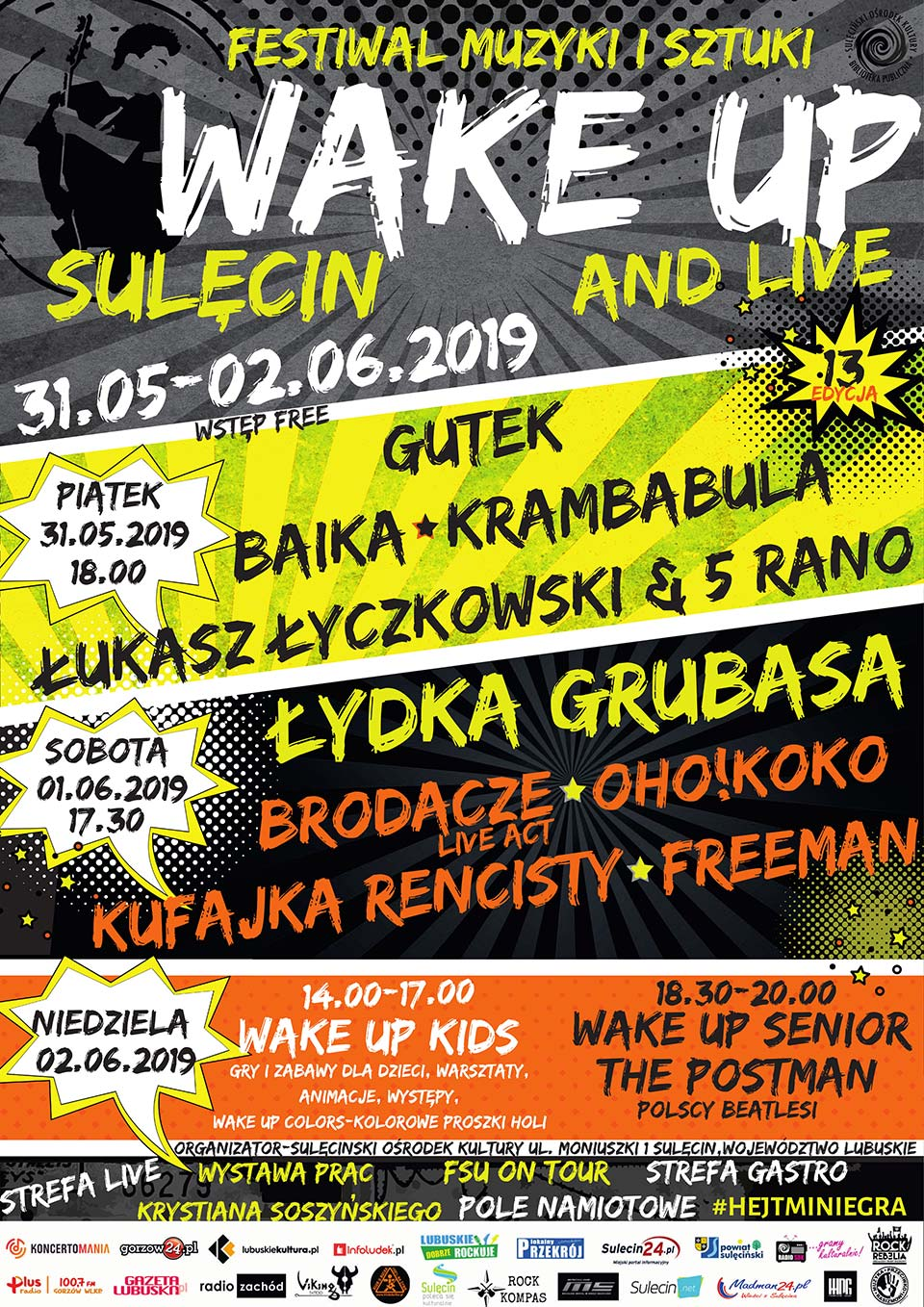 wake up adn live 2019 sulęcin